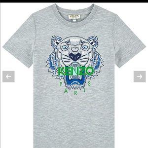 KENZO tiger graphic print short sleeve tshirt